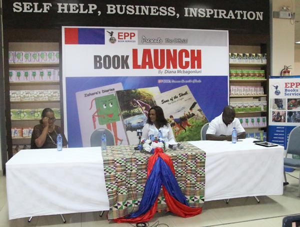 Zara's Book Launch